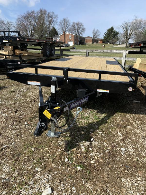 2021 Sure-Trac 8.5 x 18 Low Profile Flat Deck Deckover