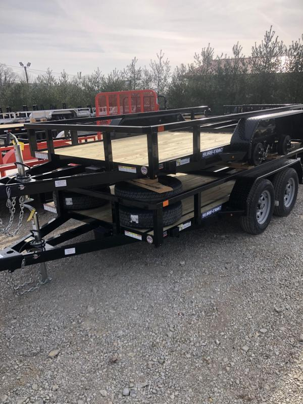2021 Sure-Trac 6 x 12 Tube Top Utility Trailer  7K Tand