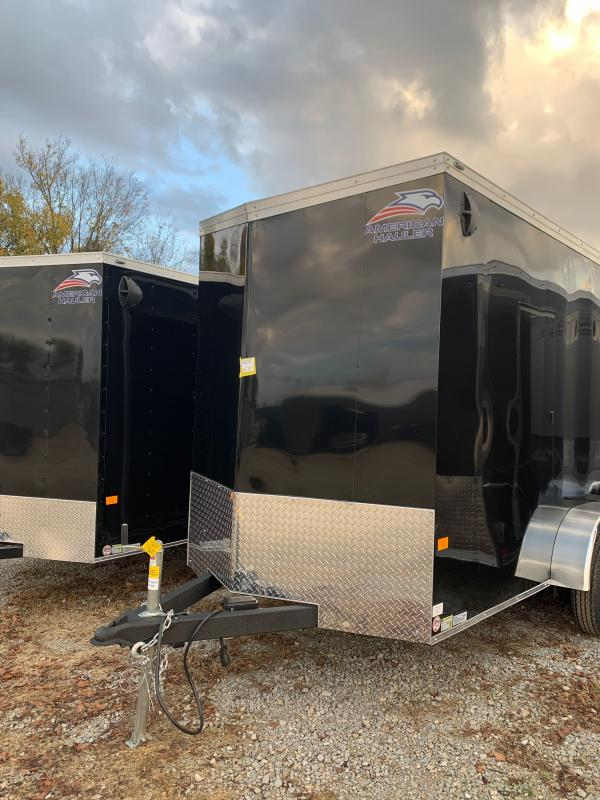 2021 American Hauler 6 x 12 tandem axle night hawk Enclosed Cargo Trailer