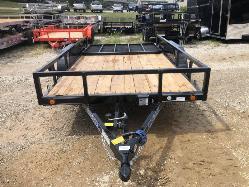 "77"" X 12' TANDEM AXLE UTILITY (4"" CHANNEL FRAME)"
