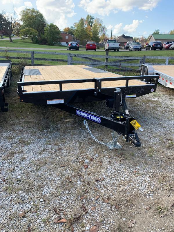 2021 Sure-Trac 8.5 x 16 Low Profile Flat Deck Deckover