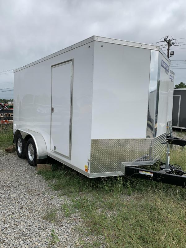 2020 Sure-Trac 7 x 14 v nose wedge Enclosed Cargo Trailer