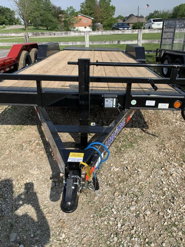 "83"" X 20' TANDEM AXLE equipment"