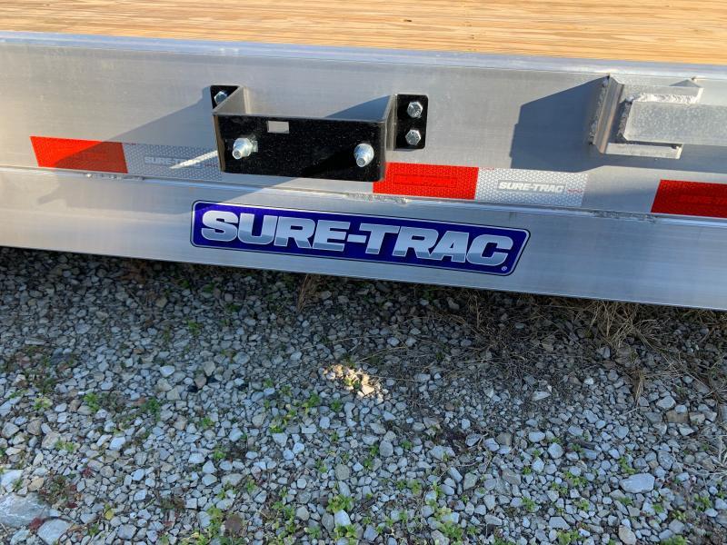 2021 Sure-Trac 7 X 20 (16+4) C-Channel Aluminum Car Hau