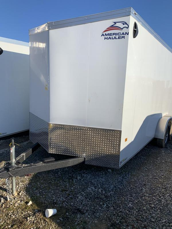 2021 American Hauler 7 x 14 Night Hawk Enclosed Cargo Trailer
