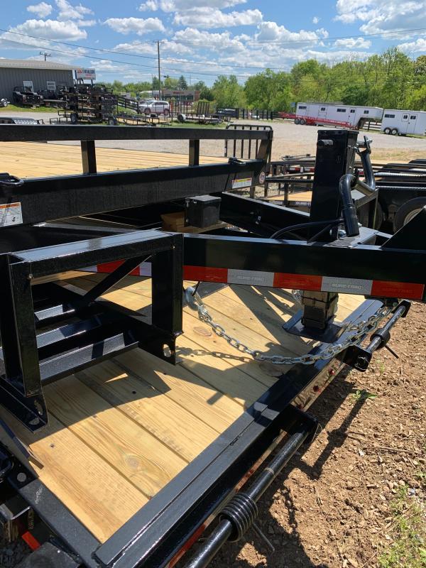 2021 Sure-Trac 7 x 18 (16+2) Equipment Trailer  14K
