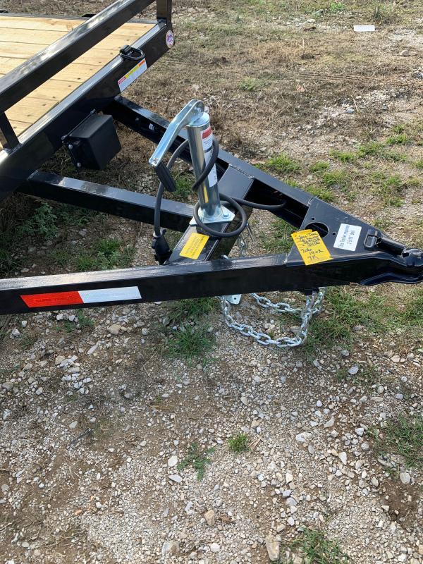 2021 Sure-Trac 7 x 16 (14+2) C-Channel Car Hauler Trail