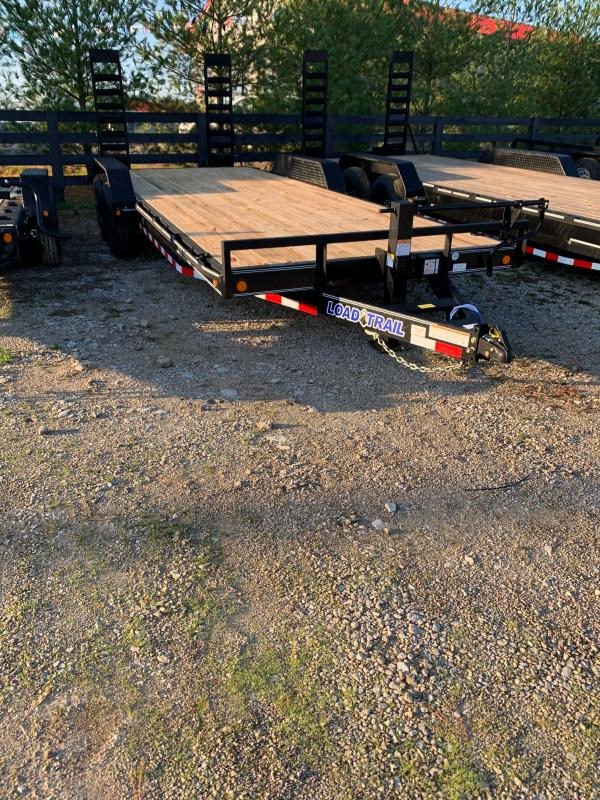 "83"" X 20' TANDEM AXLE equipment trailer"