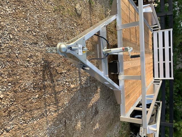 2021 Sure-Trac 7 x 14 aluminum tandem axle Utility Trailer