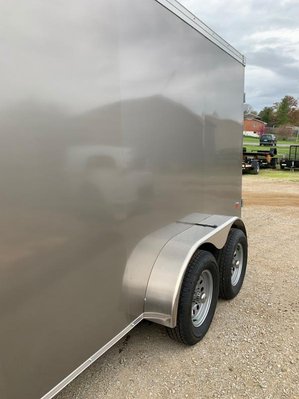 2021 American Hauler 6 X 12 TANDEM AXLE Enclosed Cargo Trailer