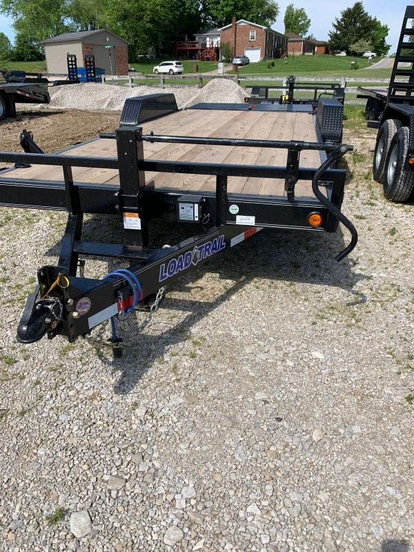 "83"" X 20' TANDEM AXLE EQUIPMENT TRAILER"