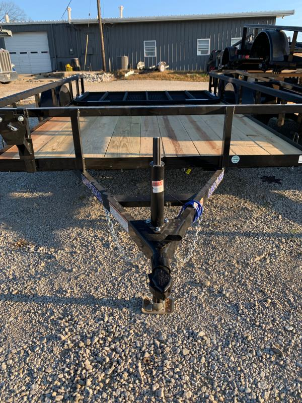 "83"" X 12' SINGLE AXLE (2"" X 3"" ANGLE FRAME)"