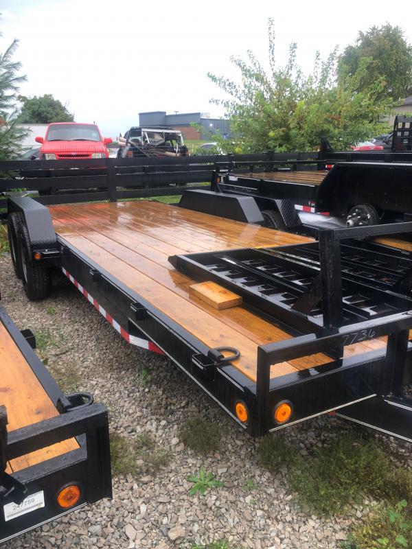 2022 Load Trail 83 x 22 tandem axle carhauler Equipment Trailer