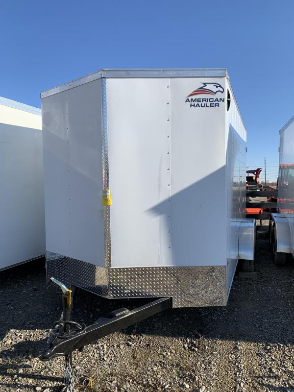 2021 American Hauler Arrow 7 x 14 tandem axle Enclosed Cargo Trailer