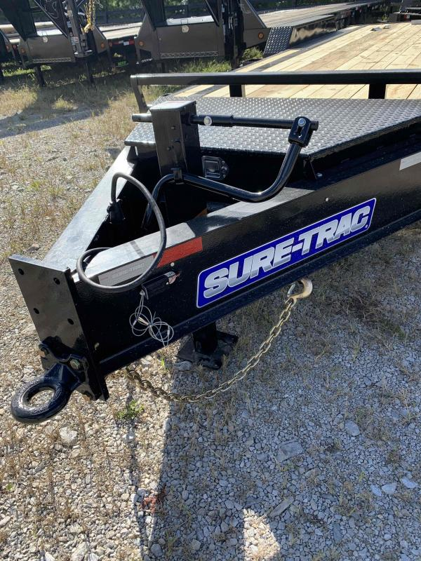 2021 Sure-Trac 7 x 20 (17+3) Equipment Trailer  20K