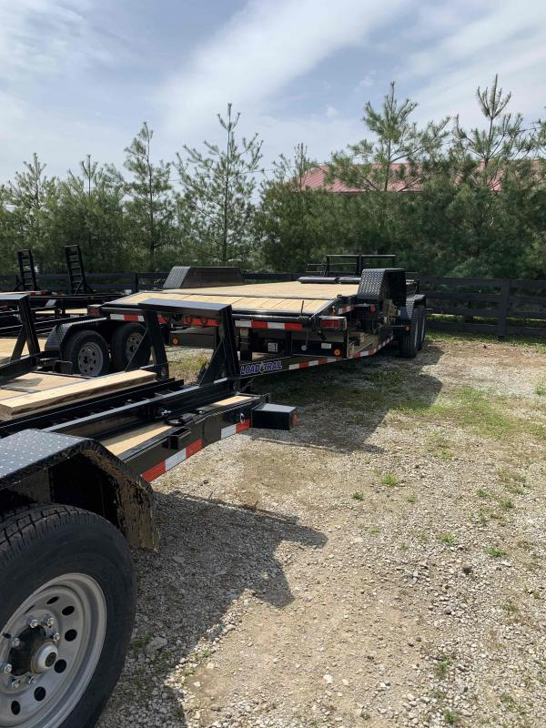 "83"" X 20' TANDEM AXLE 14K EQUIPMENT TRAILER"