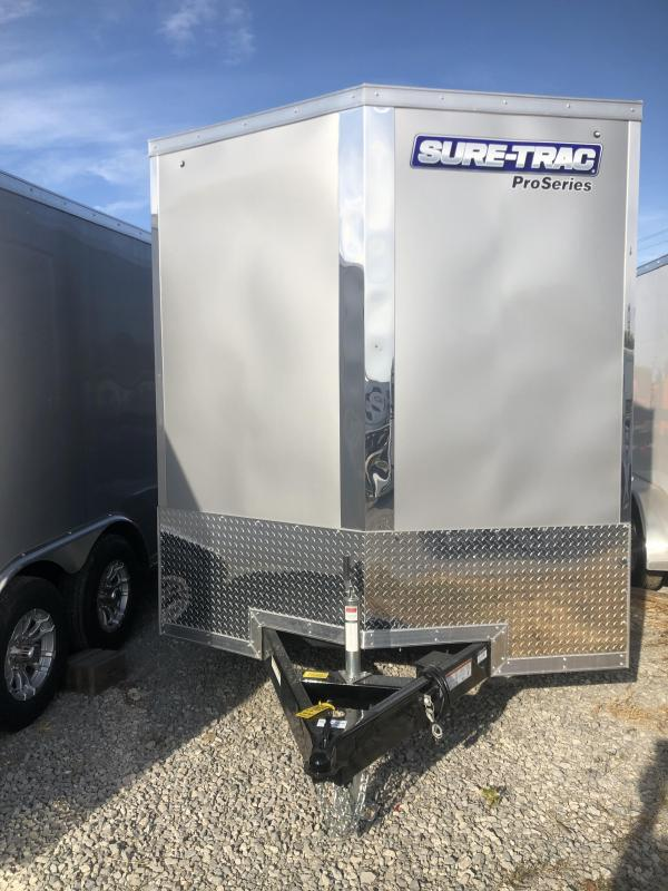 2021 Sure-Trac 7 x 12 Pro Series Enclosed Wedge Cargo T