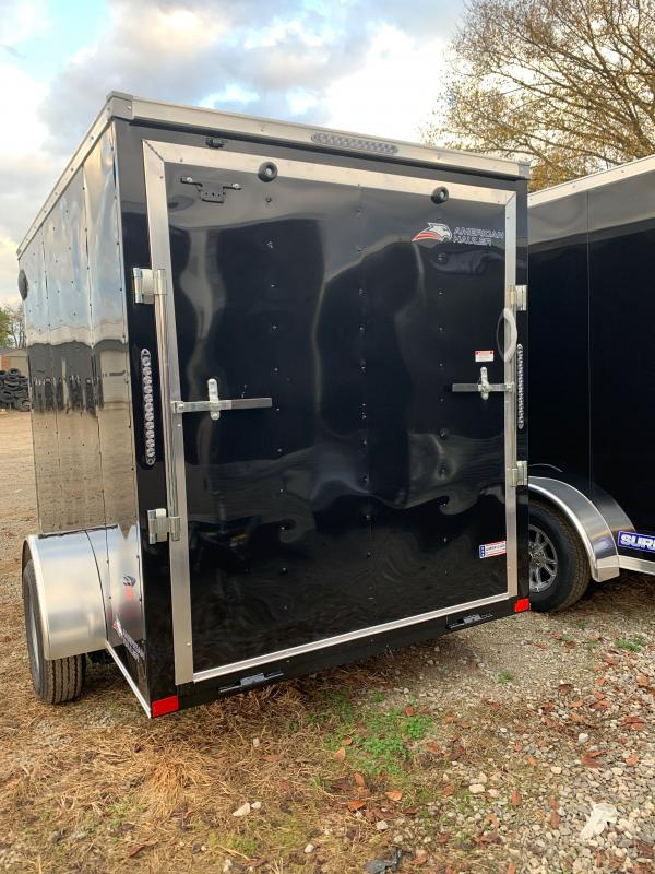 2021 American Hauler single axle 6 x 10 Enclosed Cargo Trailer