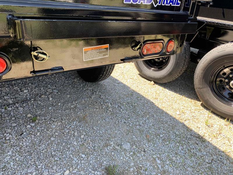 """83"""" X 14' Load Trail TANDEM AXLE DUMP"""