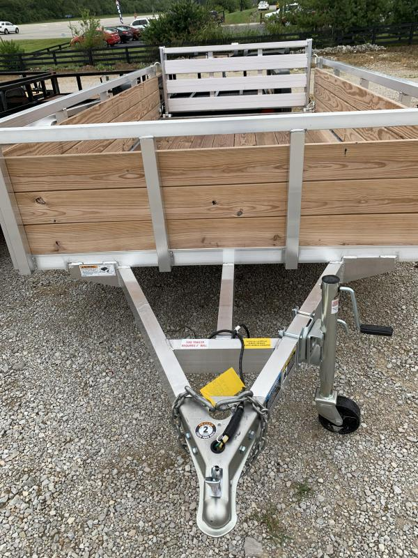 2020 H and H Trailer 8(76)X12 WOOD-SIDE ALUM 3K