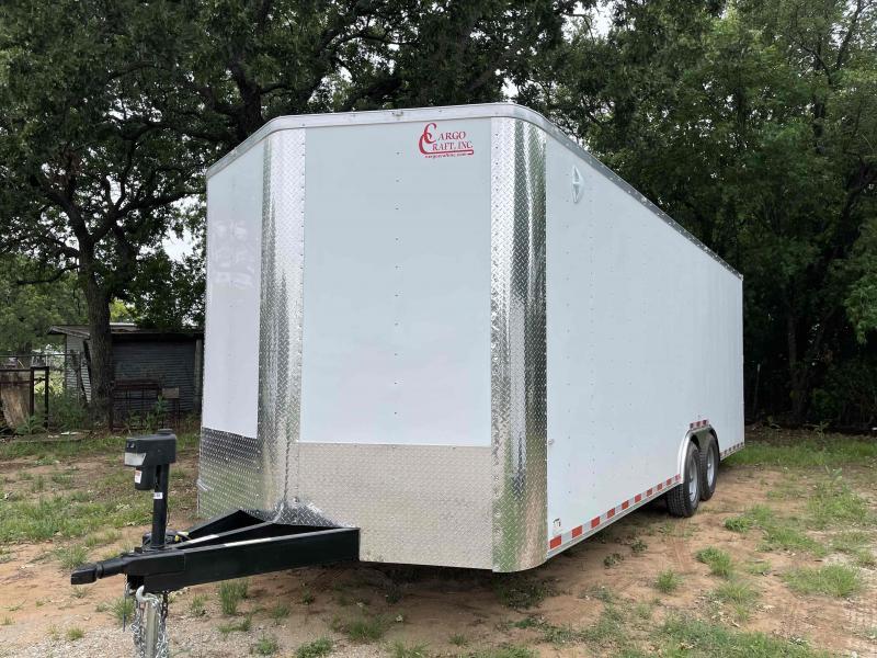 2021 Cargo Craft 8.5'x24' (22'+2' V-Nose) Bumper Pull Tandem Axle Enclosed Cargo Trailer