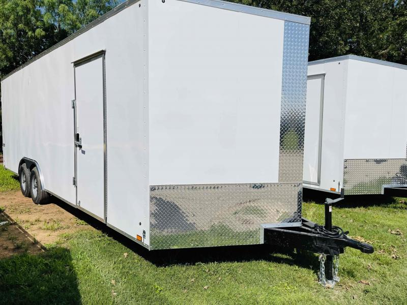 2022 Pace American 8.5'x24' Tandem Axle Cargo V-Nose Journey