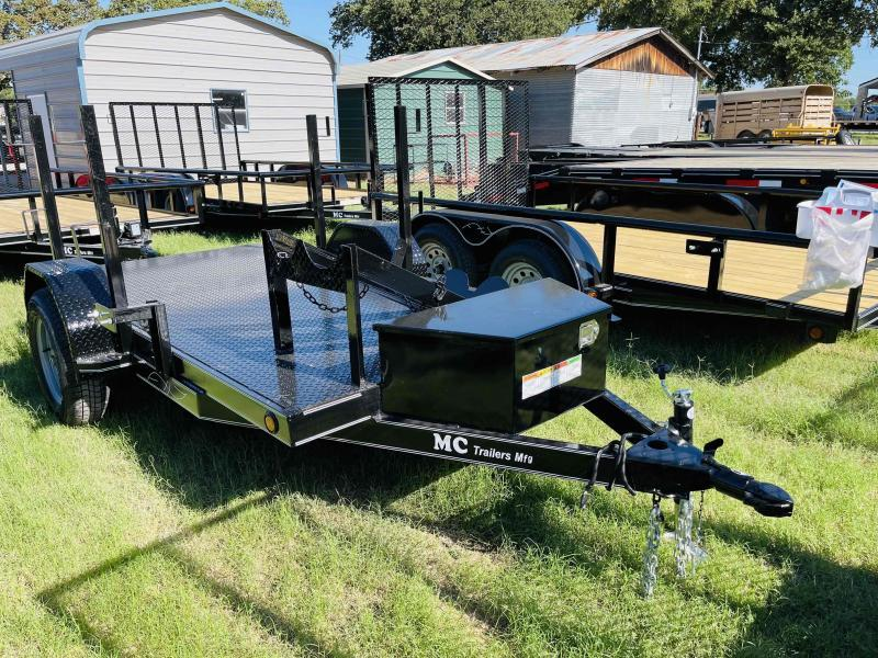 2021 MC 5'x10' Single Axle Welding Utility Trailer
