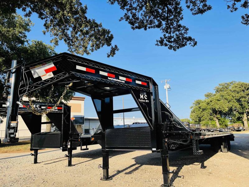 "2021 MC 32'x102"" Tandem Dual Gooseneck Deck Over Flatbed Trailer"