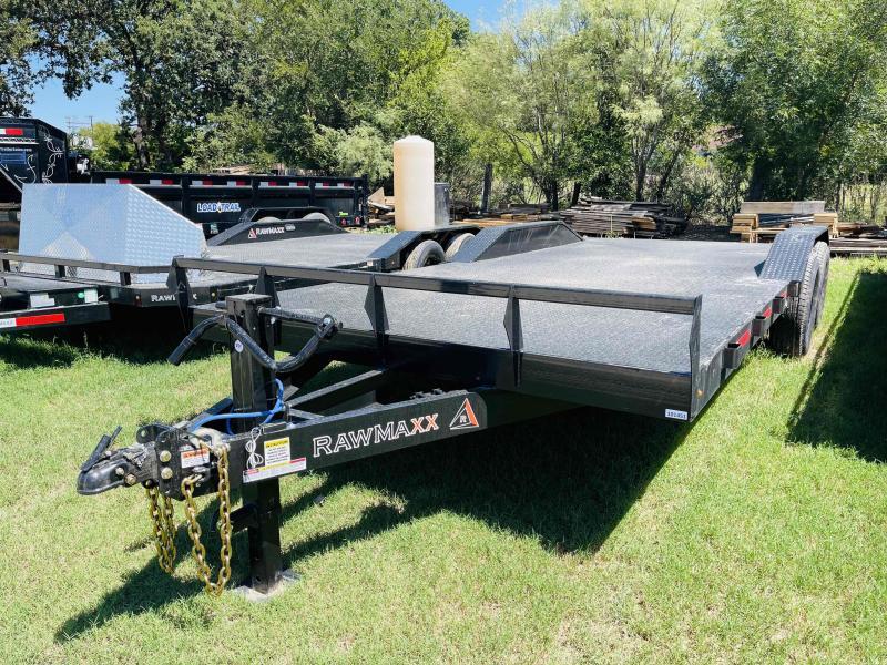 "2022 RawMaxx 20'x102"" Bumper Pull Equipment Trailer"