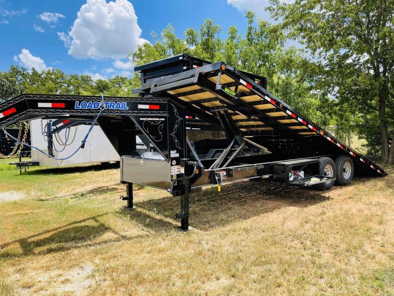 """2021 Load Trail 24'x102"""" Gooseneck Deck Over FULL POWER TILT Trailer"""