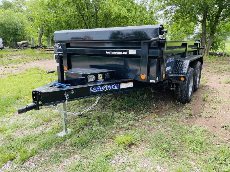 2021 Load Trail 6'x10' Tandem Axle Bumper Pull Dump Trailer