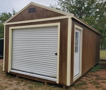 Leland 12x24 Garage