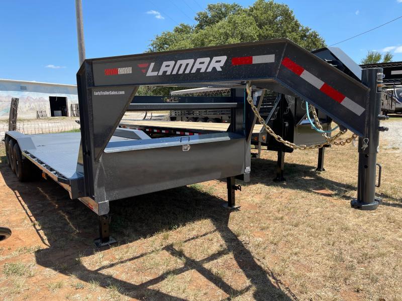 "2021 Lamar Trailers 24'x102"" Gooseneck Equipment Trailer"