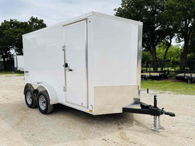 2022 Pace American 6'x12' Tandem Axle V-Nose Journey SE  Cargo Trailer