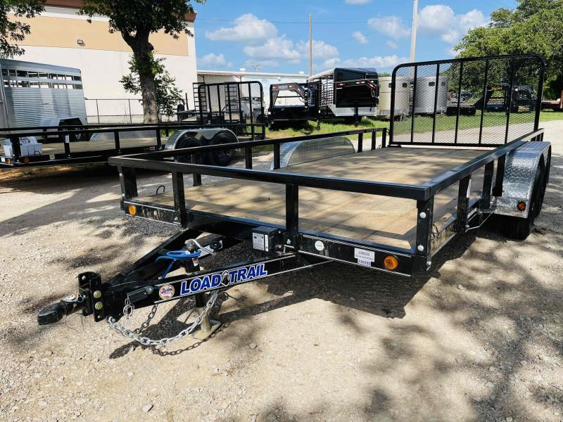"2021 Load Trail 16'x83"" Tandem Axle Utility Trailer"