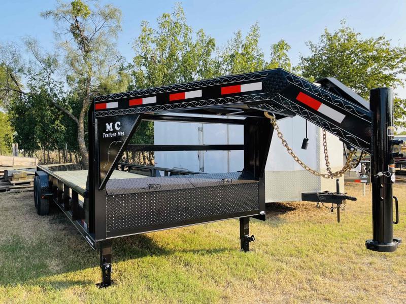 "2021 MC 24'x83"" Tandem Axle Gooseneck Utility Trailer"