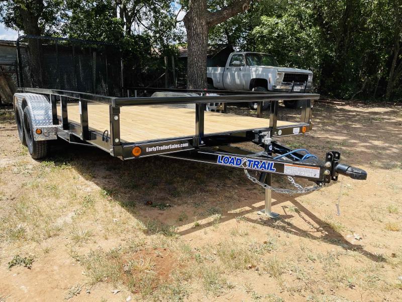 "2021 Load Trail 16'x83"" Tandem Axle Bumper Pull Utility Trailer"