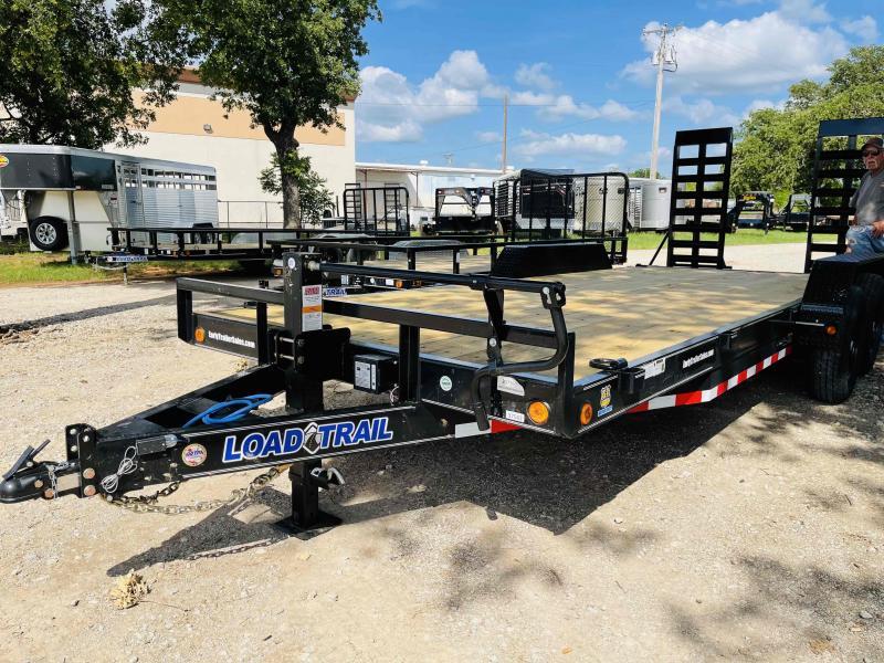 "2021 Load Trail 20'x83"" Bumper Pull Equipment Hauler"