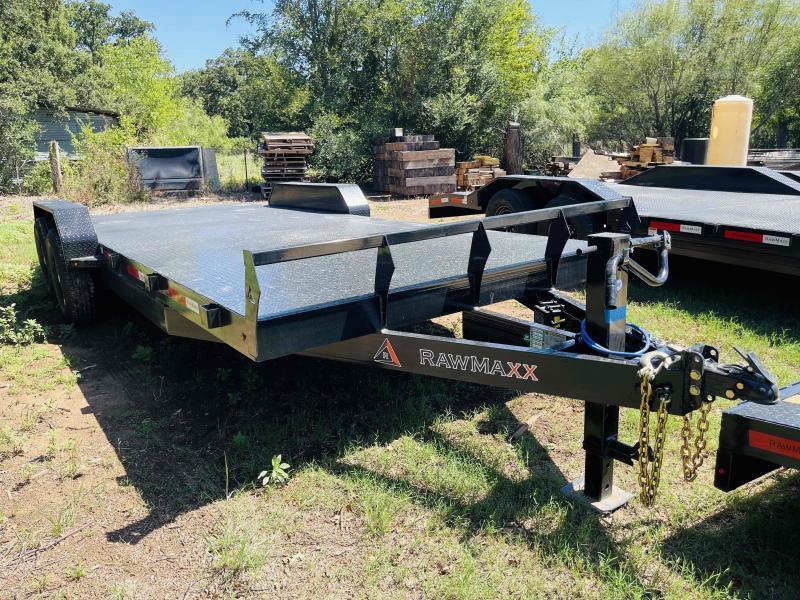 "2022 RawMaxx 20'x83"" Bumper Pull Equipment Trailer"
