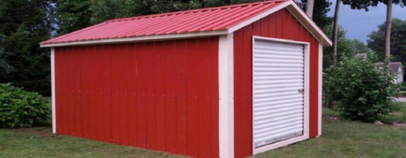 American Steel Carports Inc. Mini Storage Unit