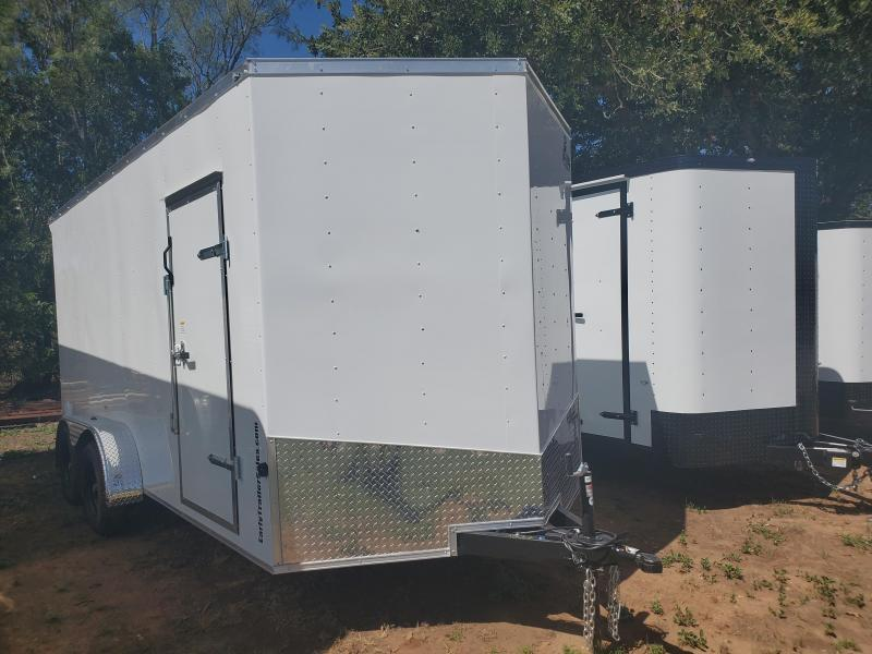 2021 T-Rex Trailers 7'x16' Tandem Axle Enclosed Cargo Trailer