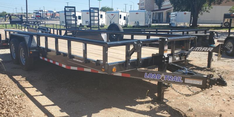 "2021 Load Trail 20'x83"" Tandem Axle Utility Trailer"