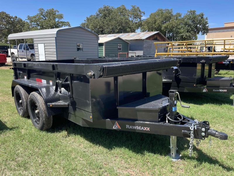 2022 RawMaxx 5'x10' Single Axle Dump Trailer