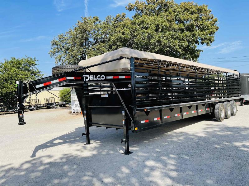 2021 Delco Trailers Livestock Trailer Livestock Trailer