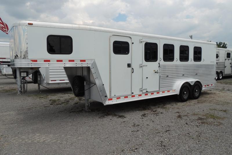 2002 Kiefer Built Gensis X4 Horse Trailer
