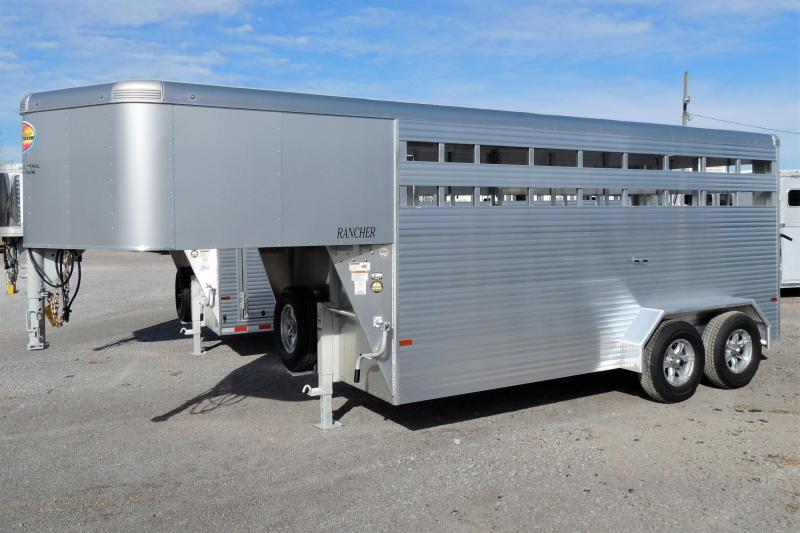2022 Sundowner Rancher 16' Gooseneck Livestock Trailer