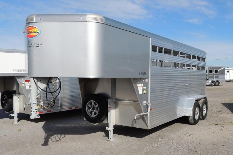 2021 Sundowner Trailers Rancher 16' Gooseneck Livestock Trailer
