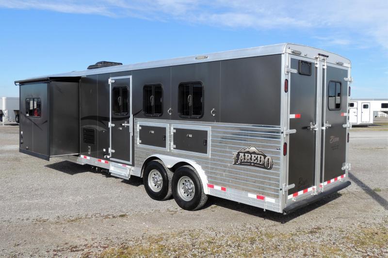 2015 Bison Laredo 8311 Slide Horse Trailer