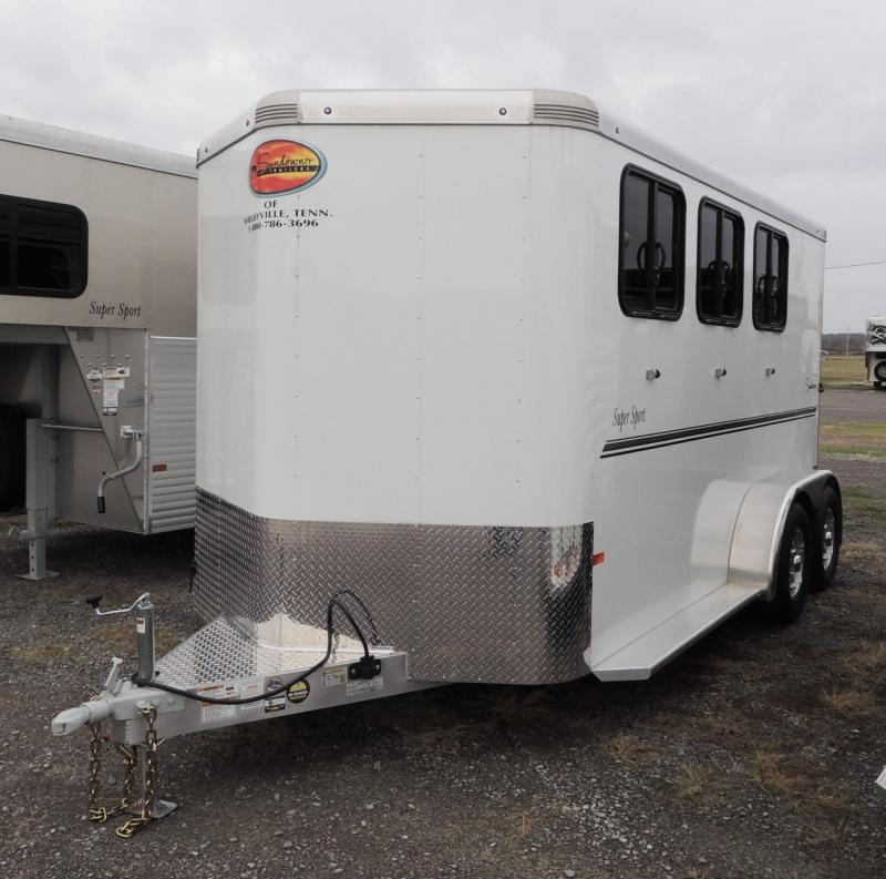 2020 Sundowner Super Sport 3 Horse Trailer