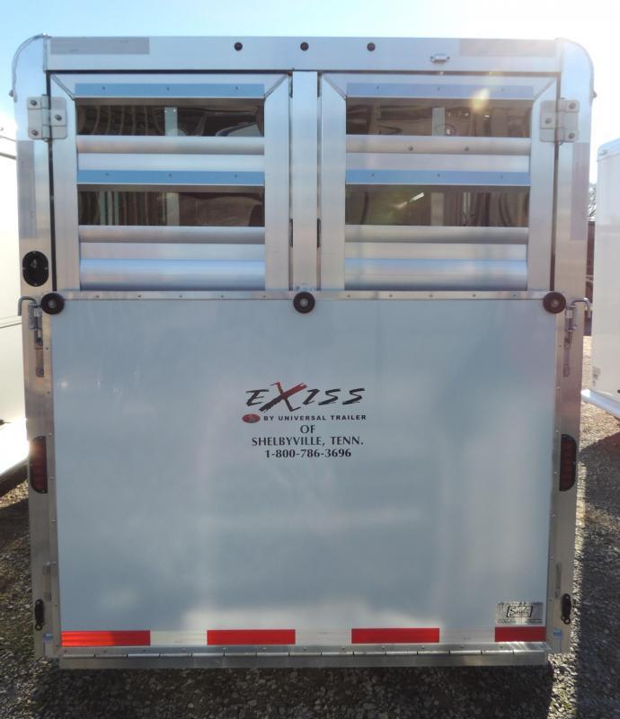 2020 Exiss Trailers Exhibitor MINI 615W Livestock Trailer